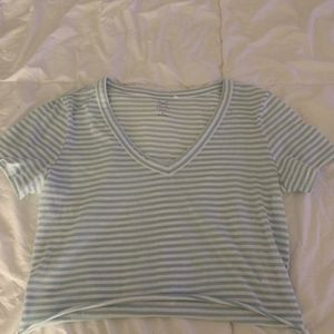 PacSun Tops - Pac Sun Blue and white stripped tee